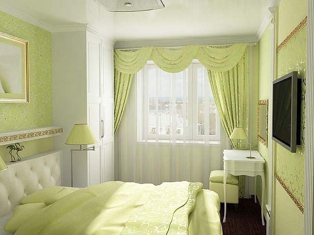 Спальня без окна маленькая фото 1