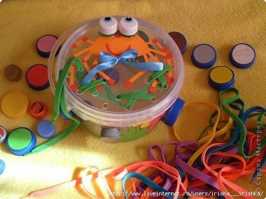 Пособия по сенсорике для детей 3-4 лет своими руками