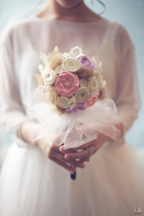 свадебный букет своими руками (1) (466x700, 141Kb)