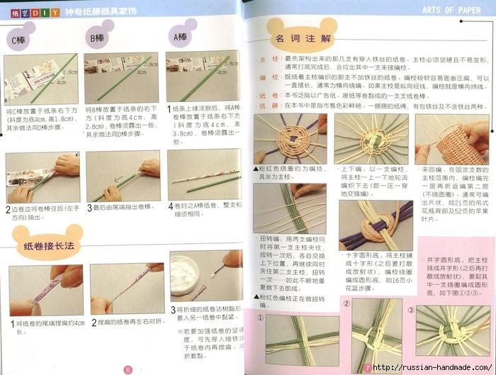 Журнал по плетению из трубочек и полосок из газет (7) (700x529, 281Kb)