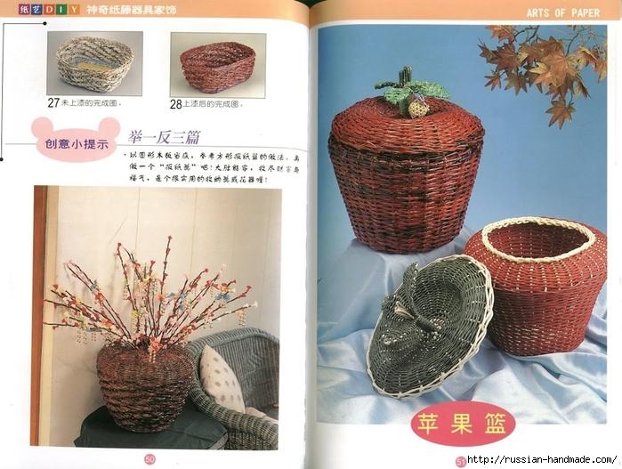 Журнал по плетению из трубочек и полосок из газет (17) (700x527, 292Kb)