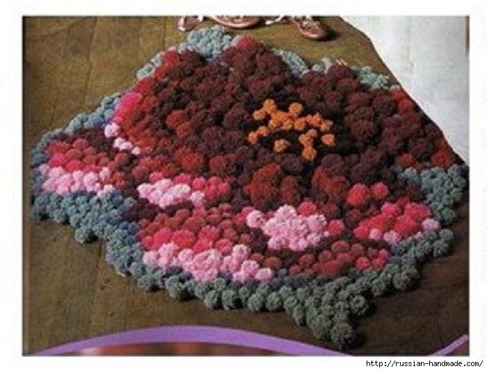 Коврики своими руками в технике ковровой вышивки. СХЕМЫ (1) (700x534, 204Kb)