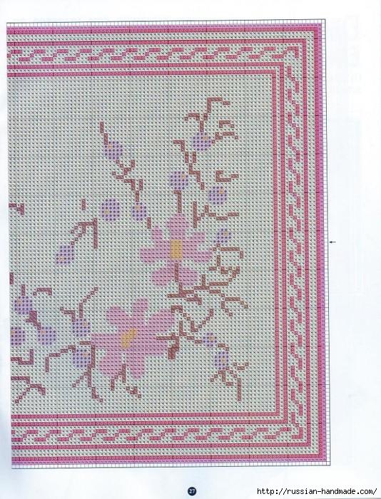 Коврики своими руками в технике ковровой вышивки. СХЕМЫ (21) (534x700, 394Kb)