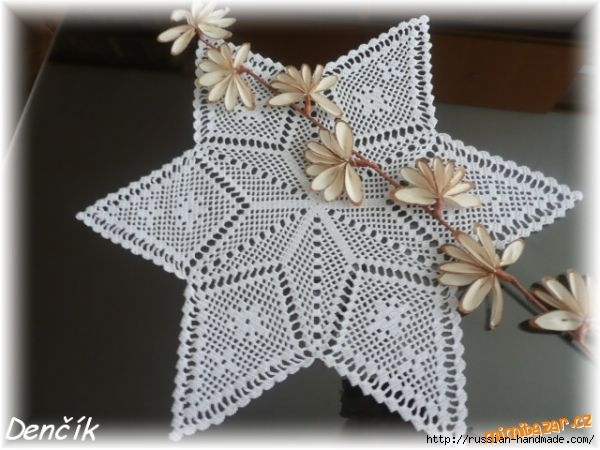 салфетка в форме звезды крючком (1) (600x450, 132Kb)