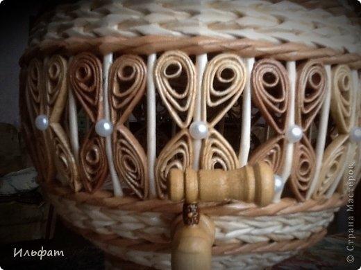 Торсион-папье или папье-вабоско из газет. Самые красивые работы в сети (47) (520x390, 108Kb)