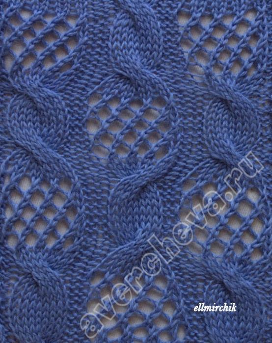 """针织模式:""""花纹??的辫子"""" - maomao - 我随心动"""