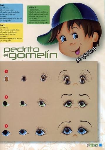 Как нарисовать глазки. Журнал (6) (358x512, 120Kb)