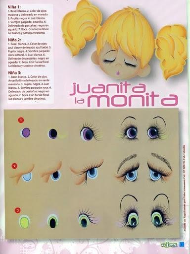 Как нарисовать глазки. Журнал (8) (384x512, 134Kb)