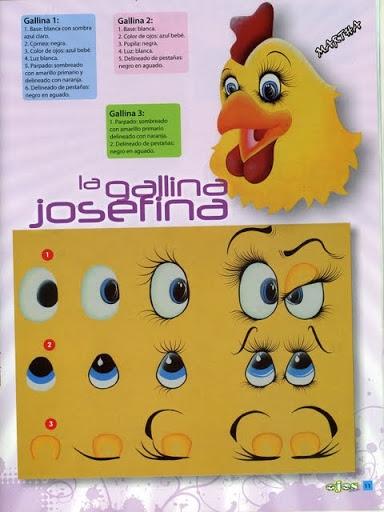 Как нарисовать глазки. Журнал (12) (384x512, 139Kb)