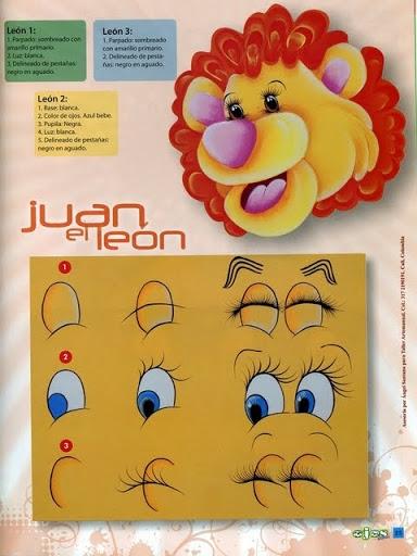 Как нарисовать глазки. Журнал (24) (384x512, 145Kb)