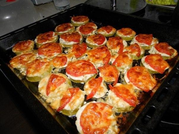 кабачки с помидорами и сыром (604x453, 71Kb)