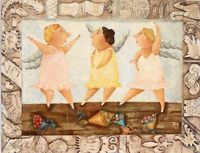 Три балерины с крыльями (393x300, 119Kb)