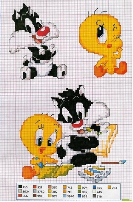Вязание жаккардов рисунки для вязания спицами 575