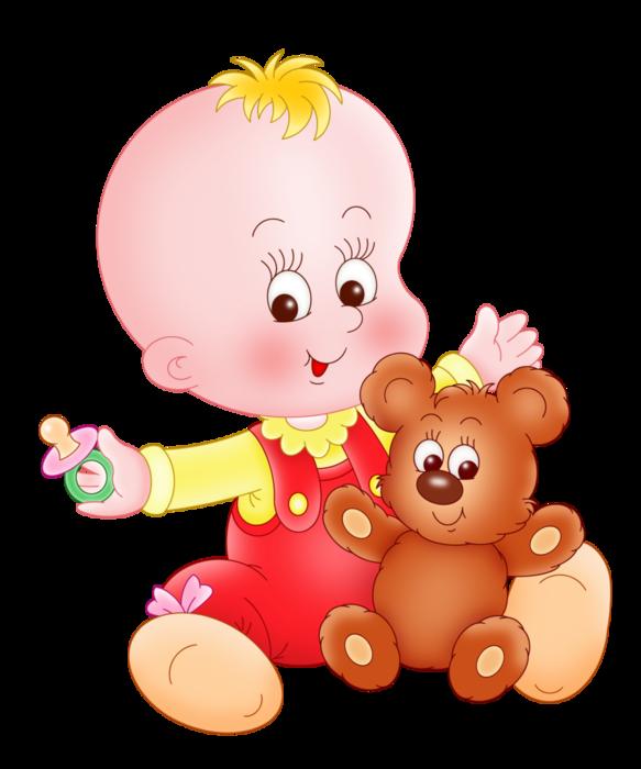 пупсик с медведем1 (583x700, 209Kb)