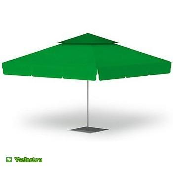 Зонт с валаном 4,0х4,0 м стальной, телескопический с подставкой (350x350, 10Kb)