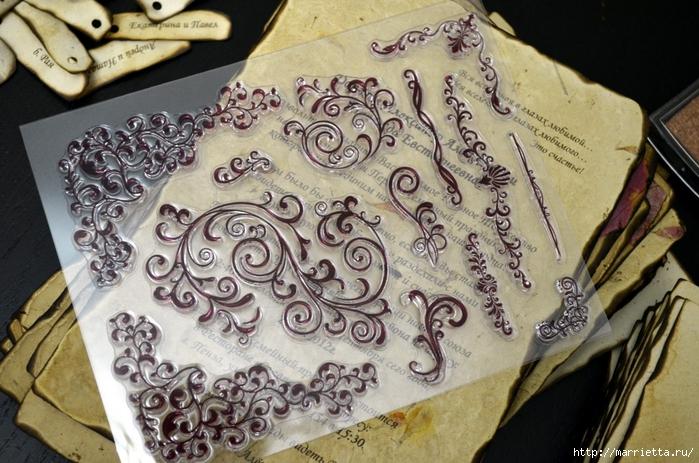 Старинные свитки. Пригласительные на свадьбу своими руками (28) (700x463, 317Kb)