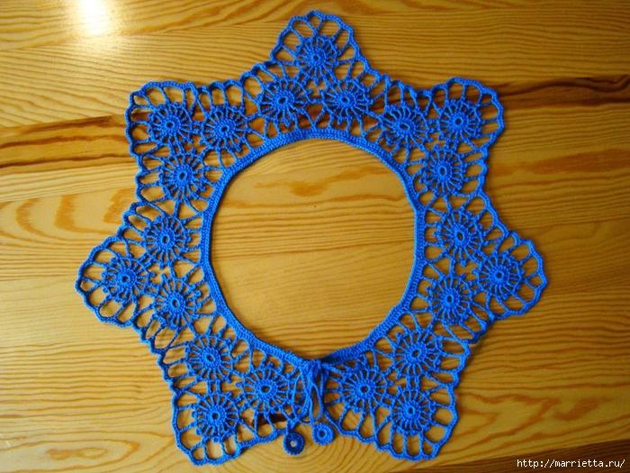 вязание крючком. ажурные воротники (5) (700x525, 373Kb)