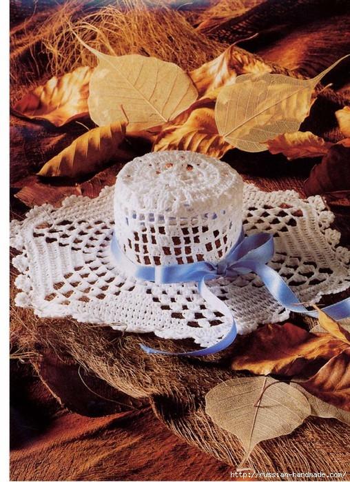 вязание крючком ажурные шляпки (8) (508x699, 339Kb)