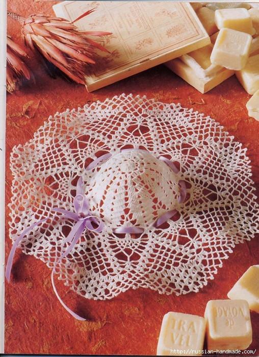 вязание крючком ажурные шляпки (12) (508x699, 328Kb)