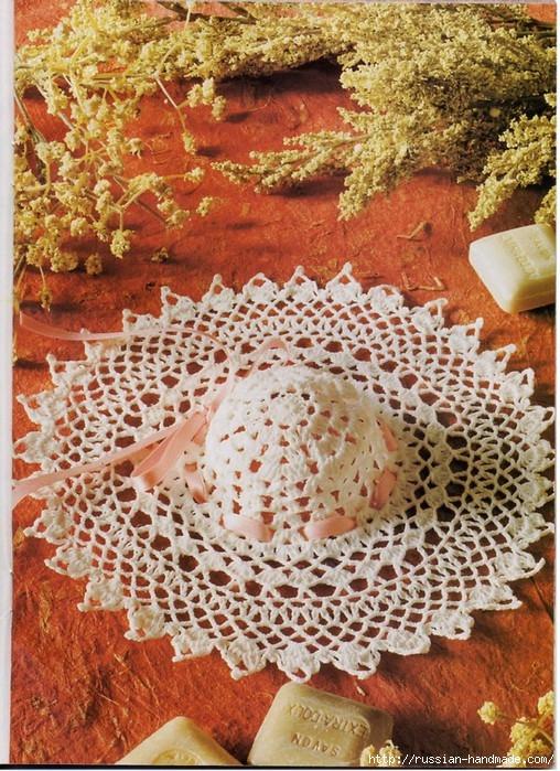 вязание крючком ажурные шляпки (14) (508x699, 353Kb)