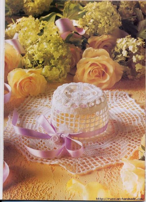 вязание крючком ажурные шляпки (16) (508x699, 253Kb)