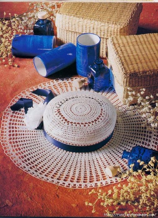 вязание крючком ажурные шляпки (20) (508x699, 345Kb)