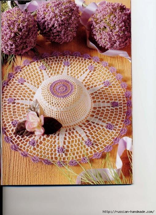 вязание крючком ажурные шляпки (23) (508x699, 298Kb)