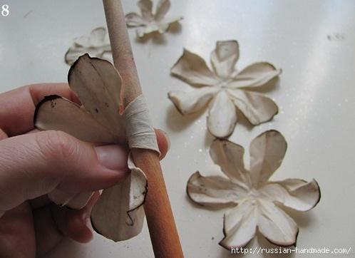 Цветы из бумаги. Как состарить бумагу для винтажных работ (15) (498x362, 91Kb)