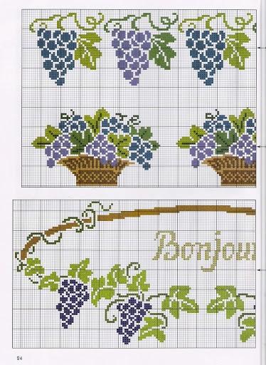 Схемы вышивки для украшения кухонного интерьера (3) (374x512, 190Kb)