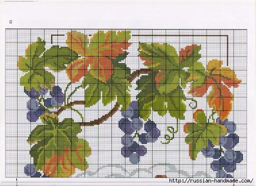 Схемы вышивки для украшения кухонного интерьера (7) (512x372, 197Kb)
