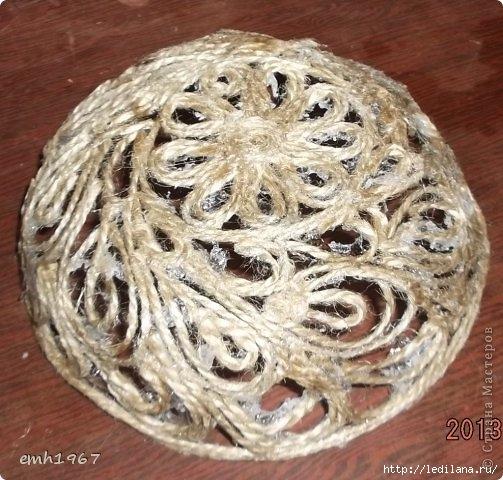 Джутовое плетение (503x480, 175Kb)