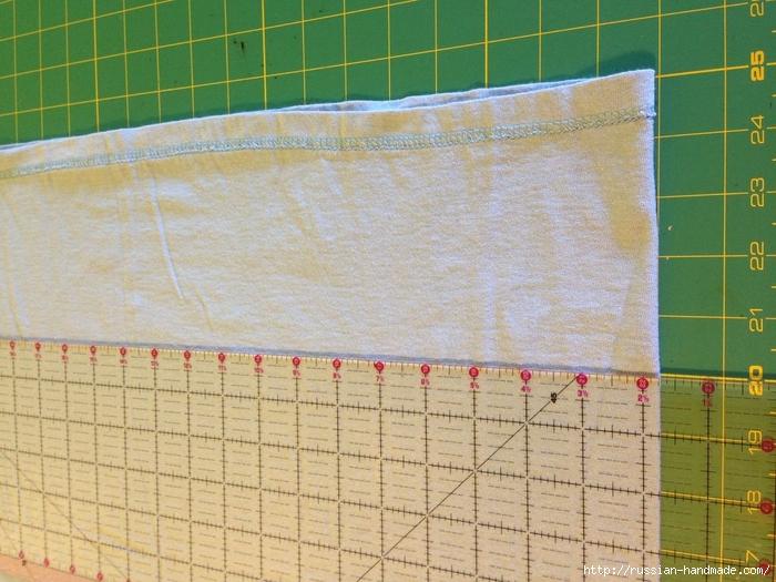 Как сделать авоську из старой футболки (11) (700x525, 308Kb)