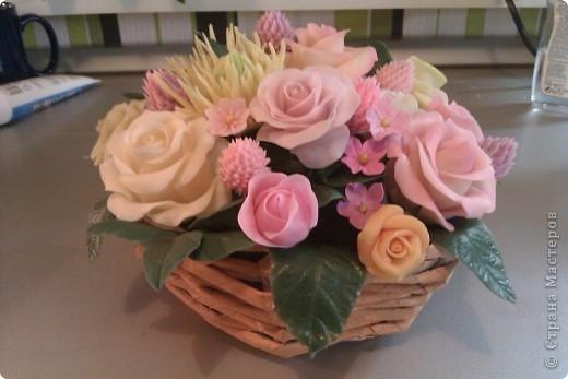 розы из холодного фарфора (2) (520x347, 96Kb)