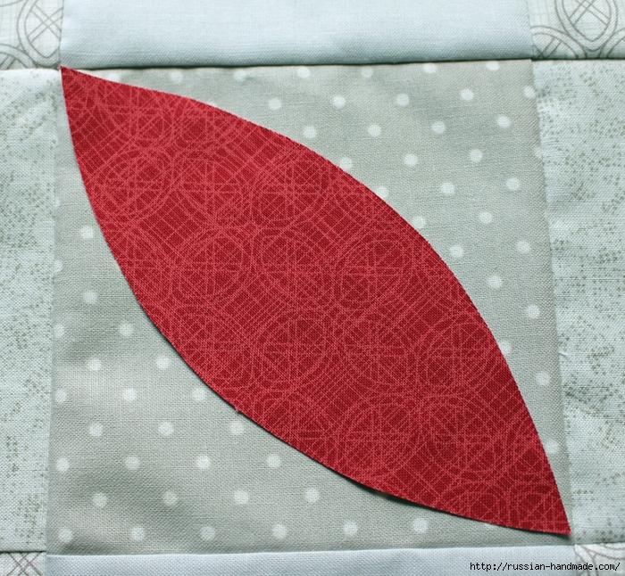 Рождественская салфетка. Лоскутное шитье. Мастер-класс (17) (700x646, 465Kb)