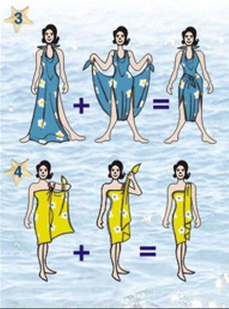 как завязать парео на пляже1 (447x604, 220Kb)