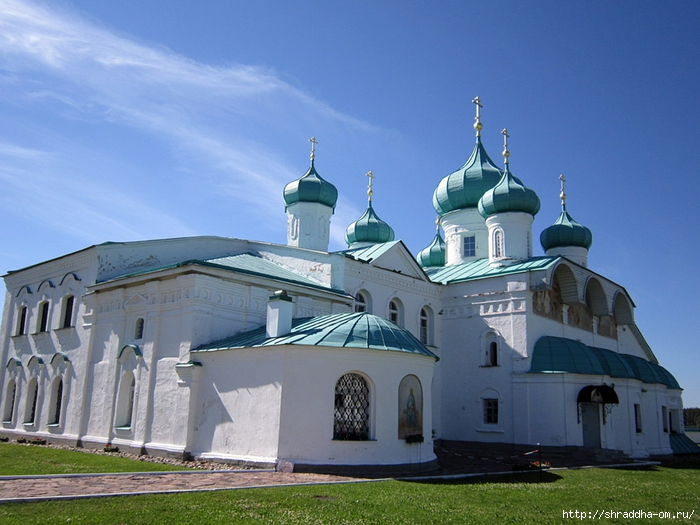 Свято-Троицкий Александра Свирского мужской монастырь (2) (700x525, 266Kb)