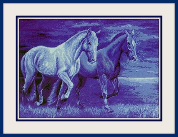 синие кони (570x440, 96Kb)