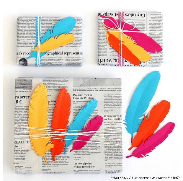 Feather_Gift_wrap_Collage_03 (620x613, 295Kb)