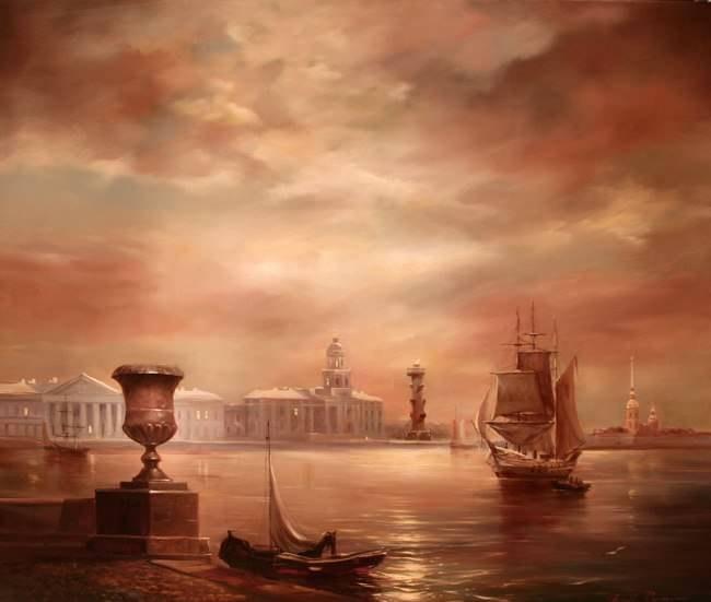 петербург в живописи: