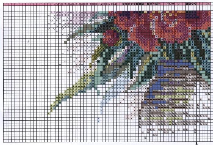 Вышивка на катке риолис 2000г