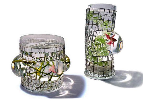 креативные аквариумы Ванессы Митрани (600x426, 156Kb)