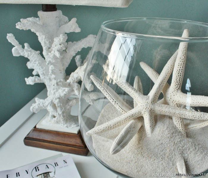 Coral lamp and starfish bowl (800x685)[9] (700x599, 322Kb)