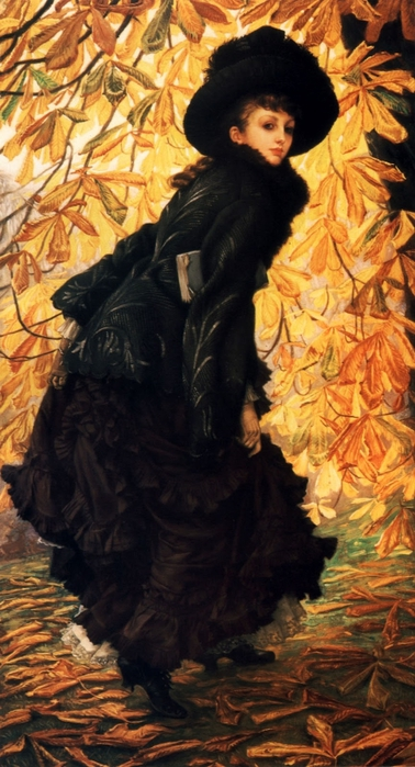 James Tissot - October (378x700, 239Kb)