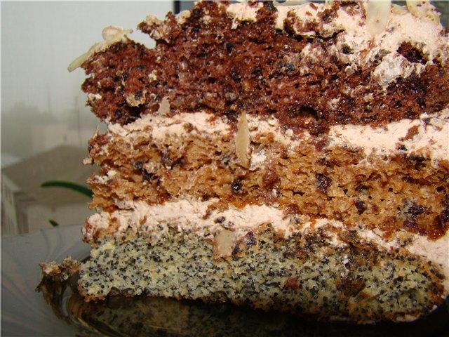 Торт дамский каприз рецепт. Домашние сладости.