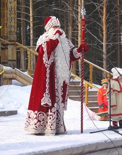 Морозко костюм своими руками