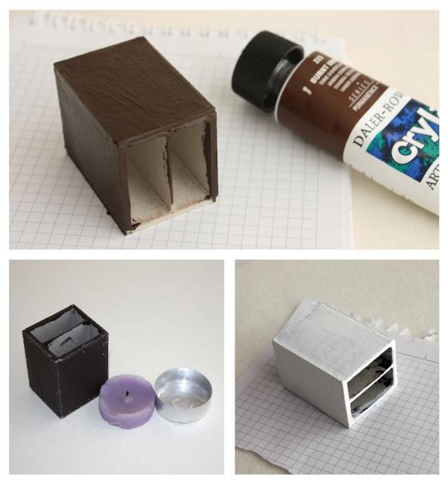 Маленький шебби-комодик из спичечных коробков. Мастер-класс (4) (651x700, 204Kb)