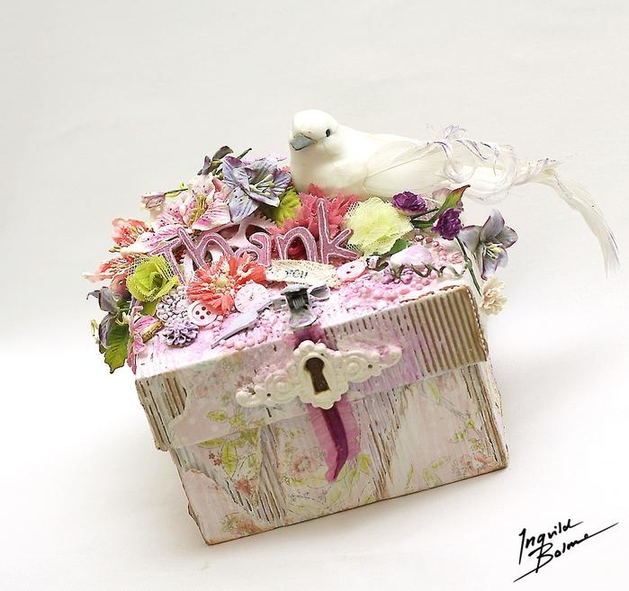 Коробочки для подарка из ободранного гофрокартона. Фото идеи (6) (700x657, 334Kb)