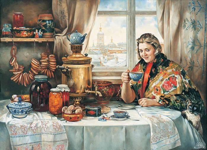 Выставка 'Русские самовары XVIII-XIX вв.' из коллекции С. Глозмана