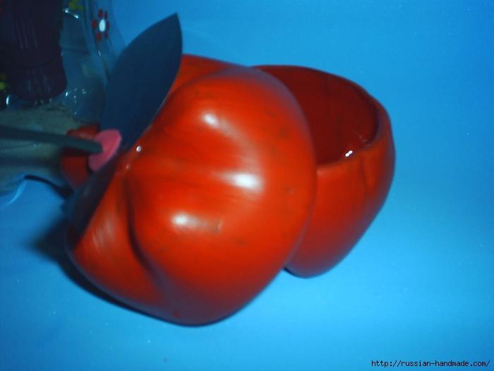яблочки из пластиковых бутылок (3) (700x525, 210Kb)