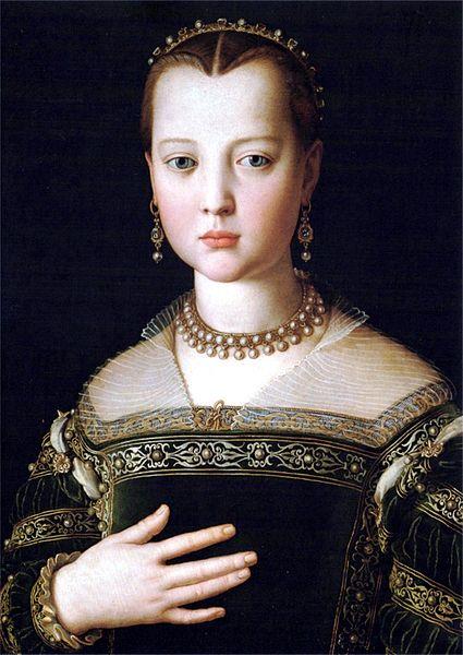Maria of Medici by Agnolo Bronzino (425x600, 58Kb)
